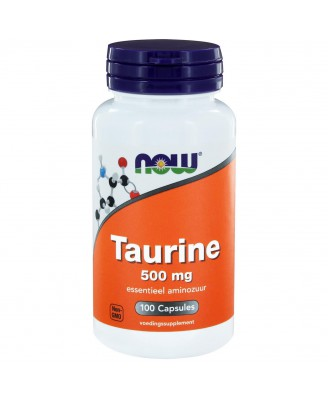 Taurine 500 mg (100 caps) - NOW Foods
