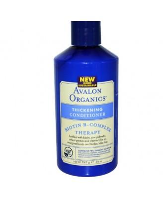 Avalon Organics, Thickening Conditioner, Biotin B-Complex Therapy, 14 oz (397 g)