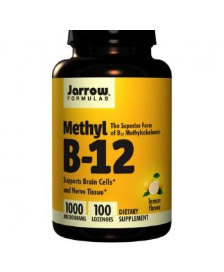Methylcobalamine B12 1000 mcg (100 Lozenges) - Jarrow Formulas