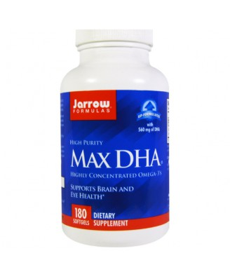 Max DHA (180 Softgels) - Jarrow Formulas