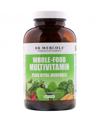 Whole Food Multivitamine Plus (240 Tabletten) - Dr. Mercola