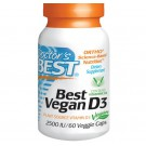Best Vegan D3 2500 IU (60 Veg Capsules) - Doctor's Best