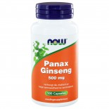 Panax Ginseng 500 mg (100 caps) - NOW Foods