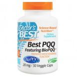 Best PQQ, 20 mg (30 Veggie Caps) - Doctor's Best