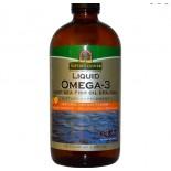 Liquid Omega-3 Deep Sea Fish Oil EPA/DHA Natural Orange Flavor (480 ml) - Nature's Answer