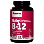 Vitamine B - Methylcobalamine vitamine B12, 5000 mcg (60 Lozenges) - Jarrow Formulas