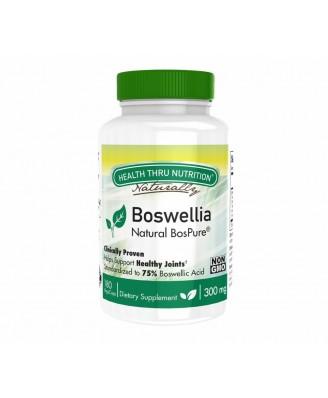 Boswellia BosPure 300 mg (non-GMO) (180 Vegicaps) - Health Thru Nutrition