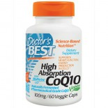High Absorption CoQ10 with BioPerine, 100 mg (60 Veggie Caps) - Doctor's Best