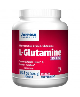 L-Glutamine Powder (1000 gram) - Jarrow Formulas