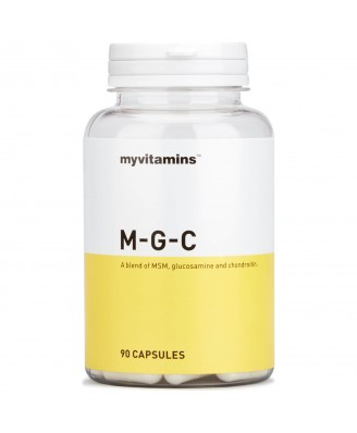 Myvitamins MSM, Glucosamine & Chondroitin, 90 Capsules (90 Capsules) - Myvitamins