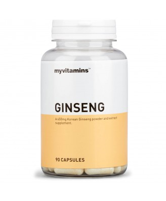 Ginseng (90 Capsules) - Myvitamins