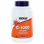 C-1000 Complex  (180 tabs) - NOW Foods