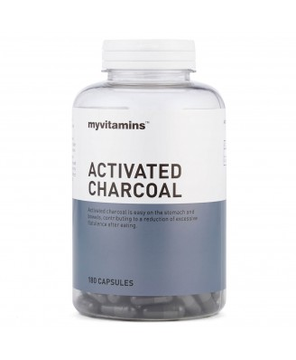 Activated Charcoal (180 Tablets) - Myvitamins