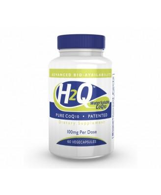 H2Q CoQ-10 (8x Absorption) 100 mg (non-GMO) (60 Vegicaps) - Health Thru Nutrition