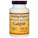 CoQ10 Gels (Kaneka Q10) 100 mg (120 Softgels) - Healthy Origins