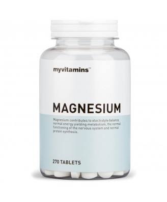 Myvitamins Magnesium, 270 Tablets (270 Tablets) - Myvitamins
