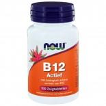 B12 Actief (100 zuigtabs) - NOW Foods