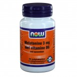 Melatonine 3 mg met Vitamine B6 (90 zuigtabs) - NOW Foods