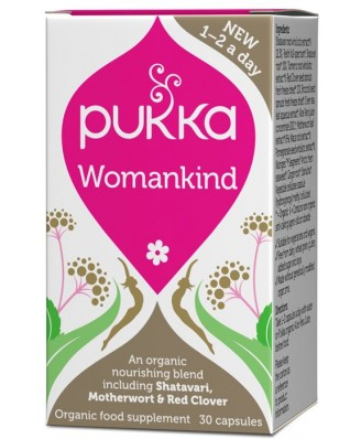 Womankind – 30 caps – Pukka