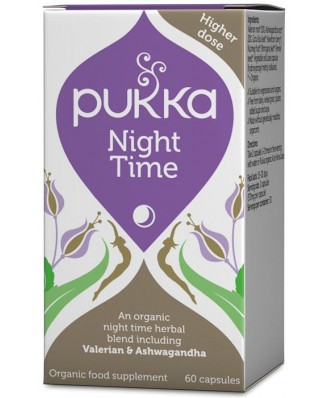 Night Time BIO– 60 caps – Pukka