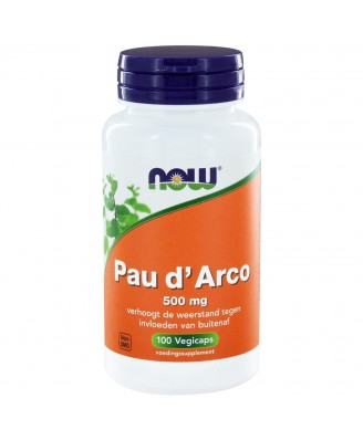 Pau d'Arco 500 mg (100 vegicaps) - NOW Foods