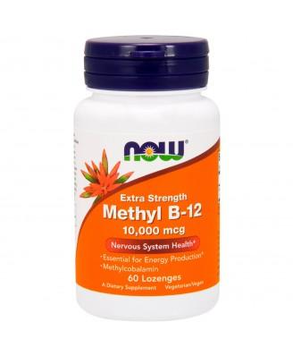 Methyl B-12 Extra Strength 10.000 mcg (60 lozenges) - Now Foods