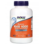 Neptune Krill 1000- 1000 mg (120 softgels) - Now Foods