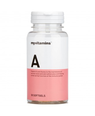 Myvitamins Vitamin A, 30 Soft Gels (30 Softgels) - Myvitamins