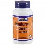 Hyaluronzuur met MSM (60 veggie caps) - Now Foods