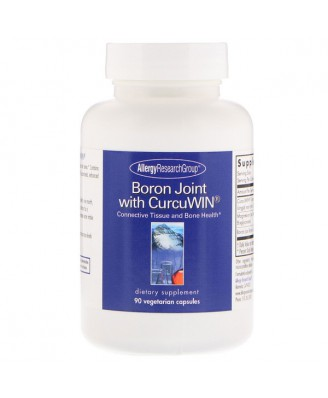 Boron with CurcuWin 90 Vegetarian Capsules - Allergy Research Group