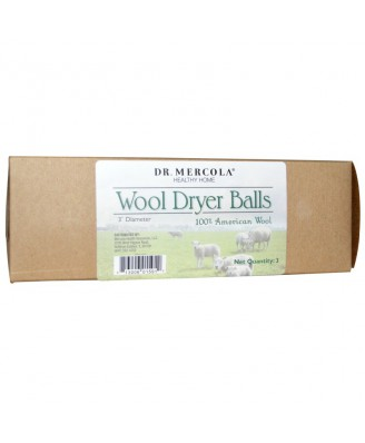 Healthy Home - Wool Dryer Balls (3 Balls) - Dr. Mercola