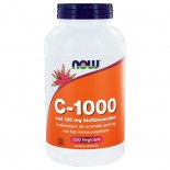 C-1000 Caps met 100 mg Bioflavonoïden (250 vegicaps) - NOW Foods