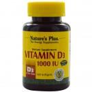 Vitamin D3, 1000 IU (180 Softgels) - Nature's Plus