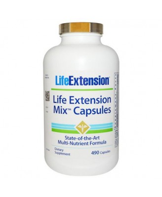 Mix Capsules (490 Capsules) - Life Extension