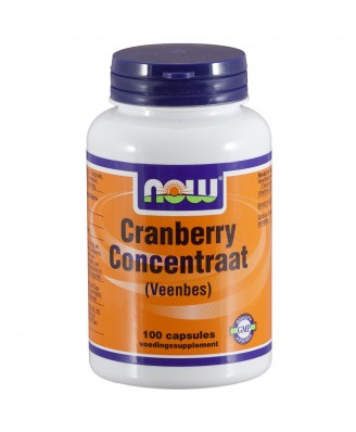 Cranberry Concentraat (Veenbes) (100 capsules) - Now Foods