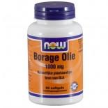 Now Foods, bernagie olie, 1000 mg, 60 gelcapsules