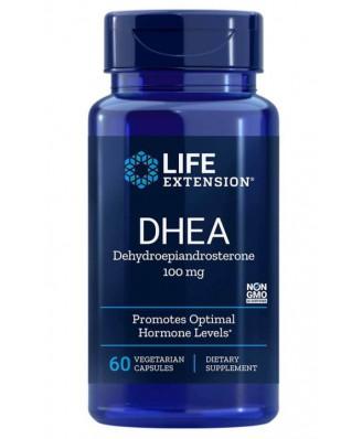 DHEA 100 mg (60 Vegetarian Capsules) - Life Extension