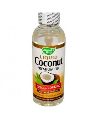 Vloeibare premium kokosolie (296 ml) - Nature's Way