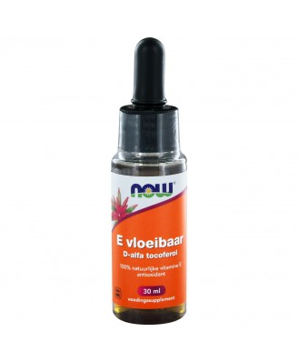 E-Vloeibaar 13.650 IE d-alfa tocoferol (30 ml) - NOW Foods