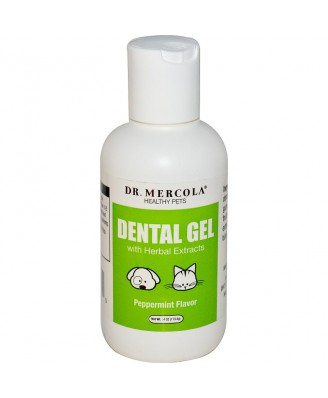Healthy Pets Dental Gel Peppermint Flavor (113.4 g) - Dr. Mercola