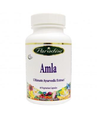 Paradise Herbs, Amla, 60 Veggie Caps