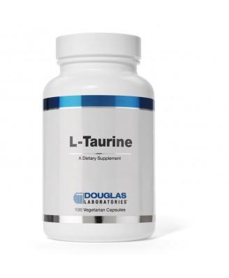 L-Taurine - 100 vegetarische capsules - Douglas laboratories