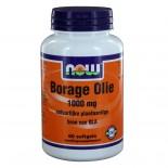 Borage Olie 1000 mg (60 softgels) - NOW Foods