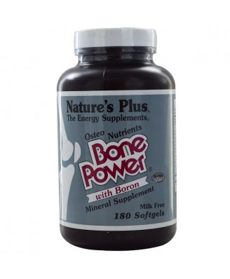 Bone Power- with Boron (180 Softgels) - Nature's Plus