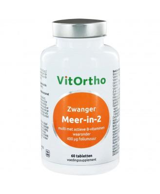 Meer-in-2 Zwanger (60 tabs) - VitOrtho