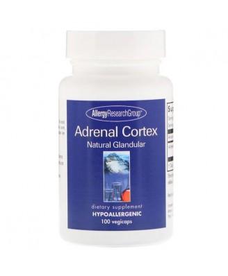 Adrenal Cortex Natural Glandular 100 Vegicaps - Allergy Research Group