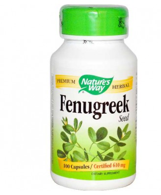 Nature's Way, Fenugreek Seed, 610 mg, 180 Capsules