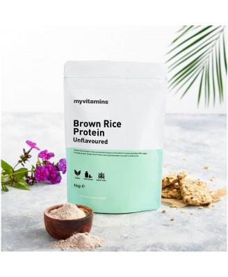Brown Rice Protein - Unflavoured 1kg (Myvitamins) (1000 gram) - Myvitamins