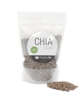 Biologische Chiazaden (500 gram) - Superfoodme