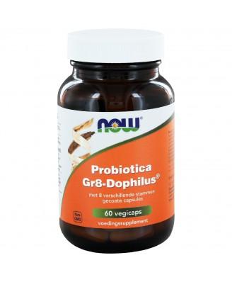 Probiotica Gr8-Dophilus (60 vegicaps) - NOW Foods